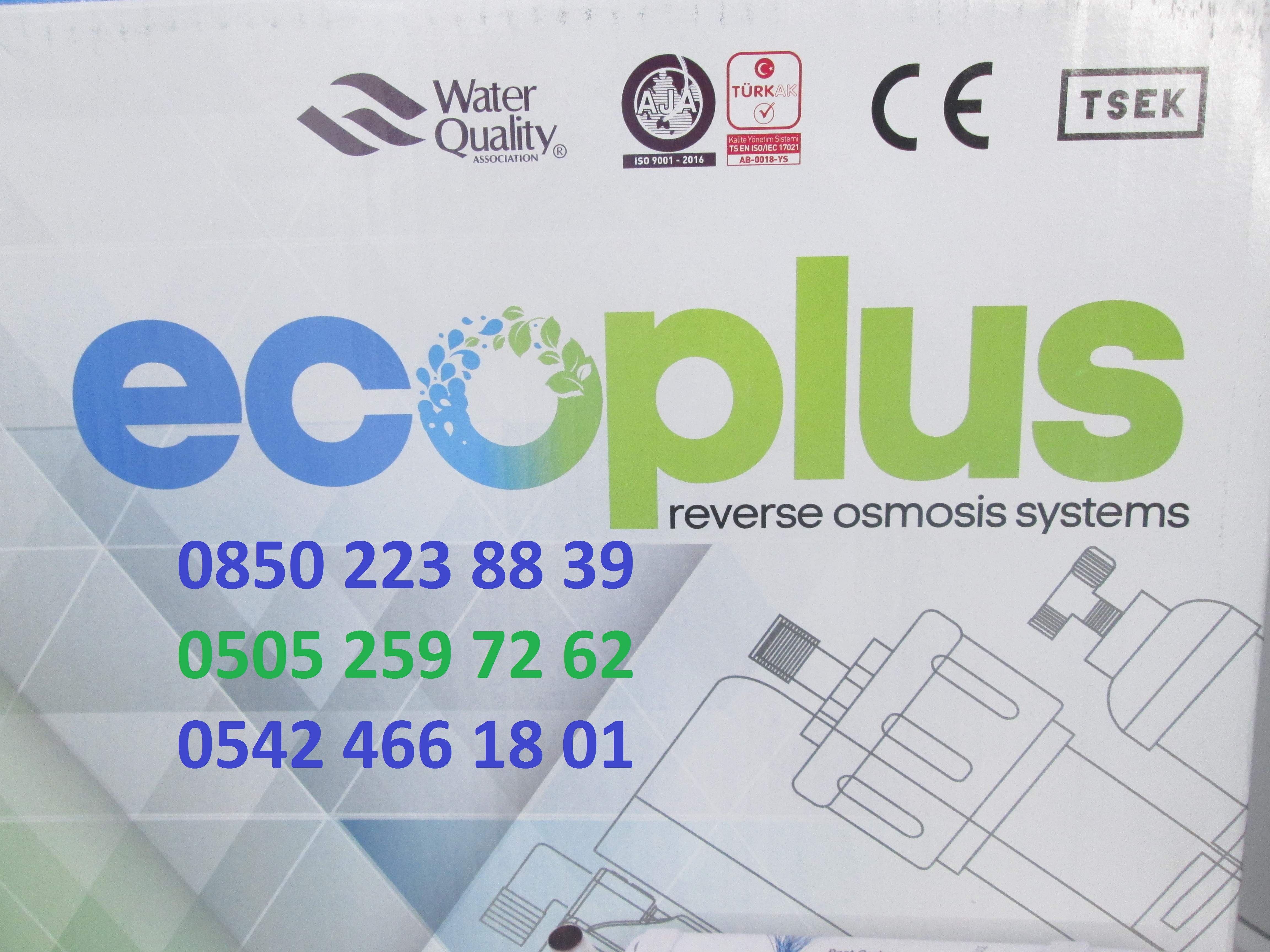ecoplus su arıtma