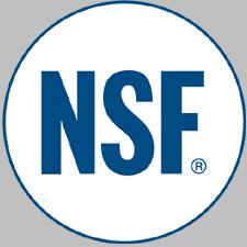 NSF onay logosu